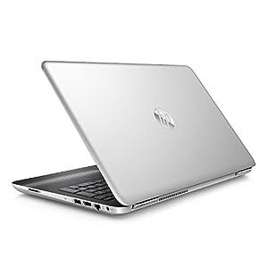 """2017 Newest HP Pavilion 15.6"""" Flagship Laptop PC, Intel i7-6500U Processor 8GB RAM 1TB HDD 7-hour Battery Life Wide FOV Webcam DVD±RW WiFi Bluetooth HDMI Windows 10 Silver"""