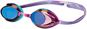 Official #1 Rated Swim Goggle on Amazon - Speedo Vanquisher 2.0 Mirrored Swim Goggle, Purple/Teal