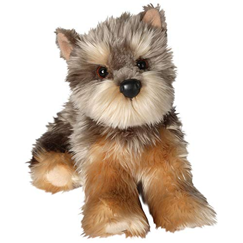 Douglas Cuddle Toys Yettie Yorkie Plush Stuffed Animal ()