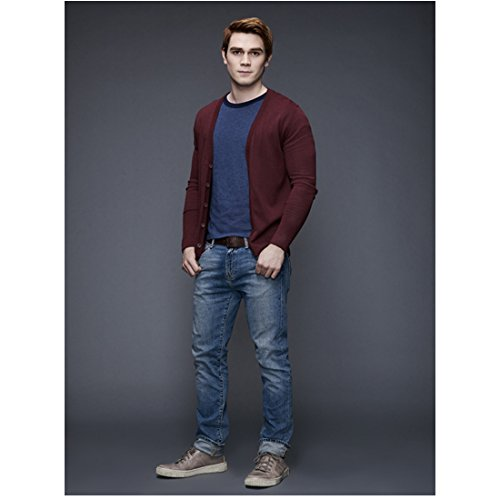 Riverdale K.J. Apa as Archie Andrews Standing with Thumbs in Pockets 8 x 10 Inch Photo