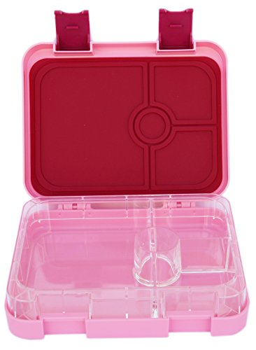 UPC 603149669635, The BEST Bento Box For Kids & Adults- Unique Lunch Box With 4 Different Compartments- Keeps Food Fresh- Dishwasher & Microwave Safe- Great For School or Work- cute PINK Color- Leak Proof & BPA FREE!