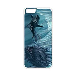 Case Cover For SamSung Galaxy S6 Flexible fish Phone Back Case Art Print Design Hard Shell Protection FG018944