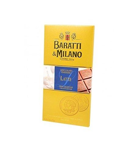 Baratti & Milano - TABLETA DE CHOCOLATE ADICIONAL DE LECHE FINA 75GR