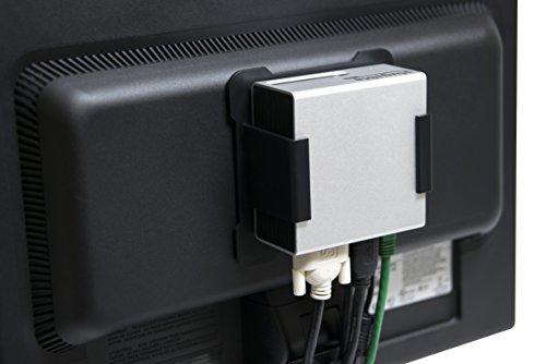 Plugable Universal USB 3.0 Docking Station with Dual Video Outputs and 4K Support for Windows 10, 8.1, 7 (HDMI & DVI/VGA, Gigabit Ethernet, Audio, 4 USB 3.0 Ports, VESA mount Aluminum Mini) by Plugable (Image #3)