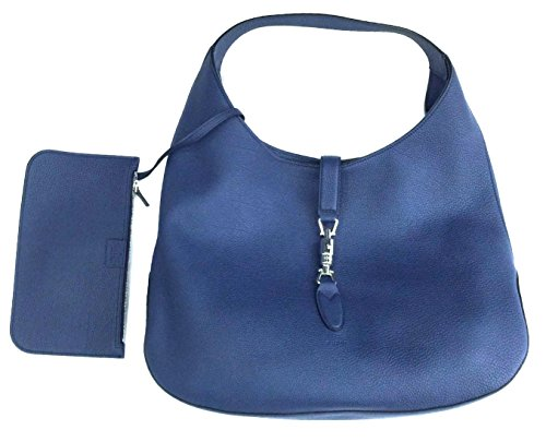 Gucci-Jackie-Soft-Blue-Leather-Large-Hobo-Bag