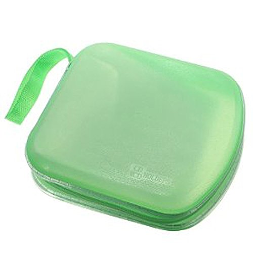 Fantastic Deal! Foxnovo Portable Clear Plastic 40 Cd DVD VCD Disc Holder Storage Box Bag Wallet Case...