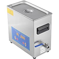 Water-chestnut Ultrasonic Cleaner Commercial and Jewelry Ultrasonic Cleaner With Heater And Digital Control (6 L)