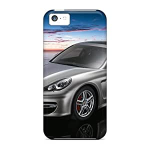 5c Scratch-proof Protection Case Cover For Iphone/ Hot Porsche Panamera Turbo Phone Case