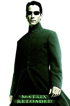 Neo - The Matrix Reloaded - Poster 23 x 35 inches approx