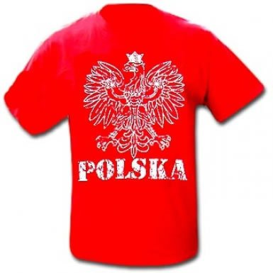 Poland National Symbol T-Shirt (Polish National Soccer Team compare prices)