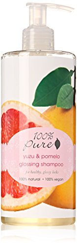 Natural Glossing Shampoo by 100% Pure, Yuzu & Pomelo