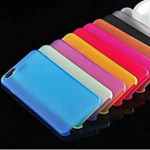 Ultra Thin Style Soft Flexible TPU Cover for iPhone 6 ,Color:Green Protective Smartphone Shell