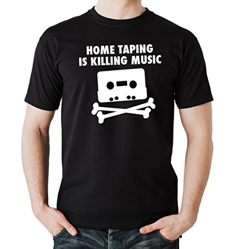 Home Taping T-Shirt Black Certified Freak