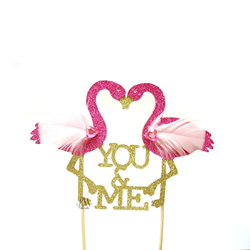 Pettstore-Flamingo-New-Cake-Topper-Insert-Card-For-Wedding-Birthday-Special-Events-Decorations-Youme