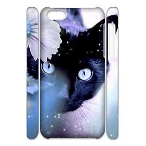 diy 3D Cover Case for Iphone 5C - magic cat case