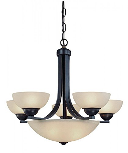 Dolan Designs 208-78 5 3Lt Bolivian Fireside 8 Light Bowl Chandelier