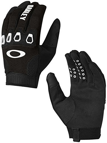 Oakley Mens Automatic 2.0 Gloves Large Jet - Tops Oakley Over The