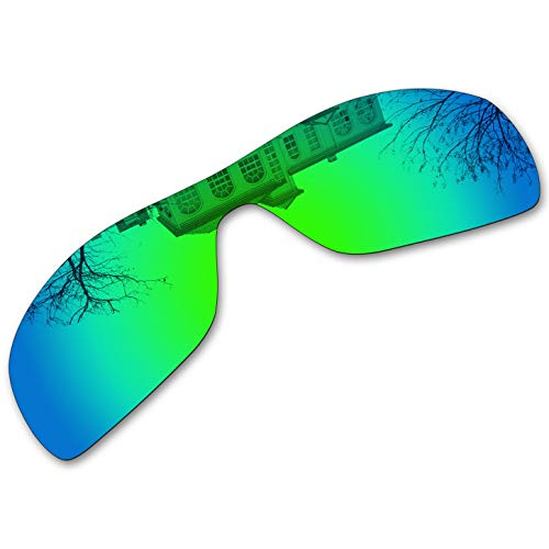 Millersawp Antix OO9077 Replacement Lenses Compatiable with Oakley Sunglass-Green ()