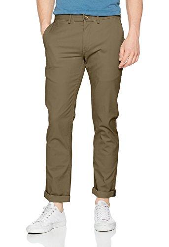 Homme Stretch Pantalon Green Ben Grün 063 Sherman Slim light Chino 1q7FHw