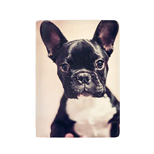 Price comparison product image Travel Passport Cover Case with Storage Pocket,  Boston Terrier