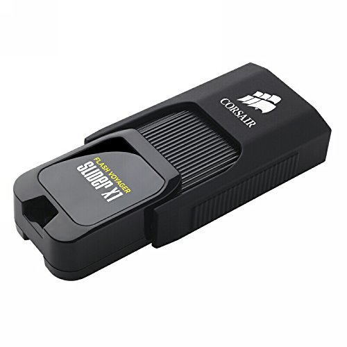 Corsair Flash Voyager Slider X1 128GB USB 3.0 Flash Drive ()