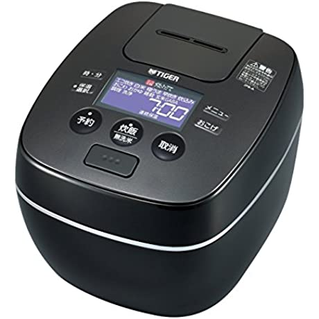 TIGER Pressure IH Rice Cooker Gloss Black JPB A100KG 1L 5 5go