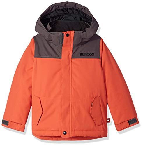 Burton Boys Minishred Amped Jacket, Hot Sauce/Trocadero, 4T ()