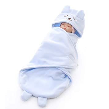 JSIHENA Saco de Dormir de Dibujos Animados recién Nacido Súper Suave ...