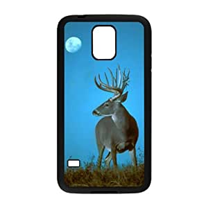 FLYBAI Deer Phone Case For Samsung Galaxy S5 i9600 [Pattern-1]