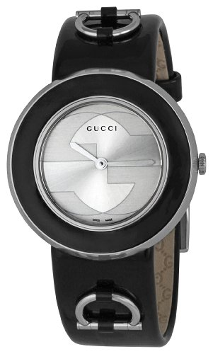 GUCCI Women's YA129404 U Play Silver Dial Watch
