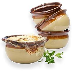 French Onion Crock Soup Bowls Set