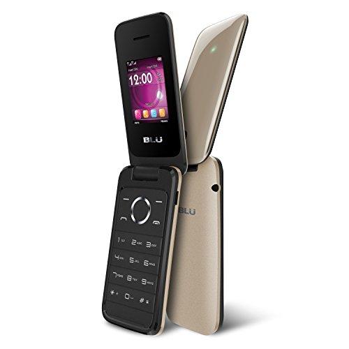 BLU Diva Flex - Flip phone - unlocked Dual Sim - Gold