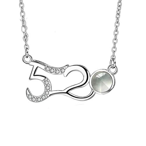 KIKISHOPQ 100 Languages I Love You Necklaces 100 Meaning of I Love You Necklaces for Girls(Silver Black and White 16) (Meaning Of The Name Kennedy For A Boy)
