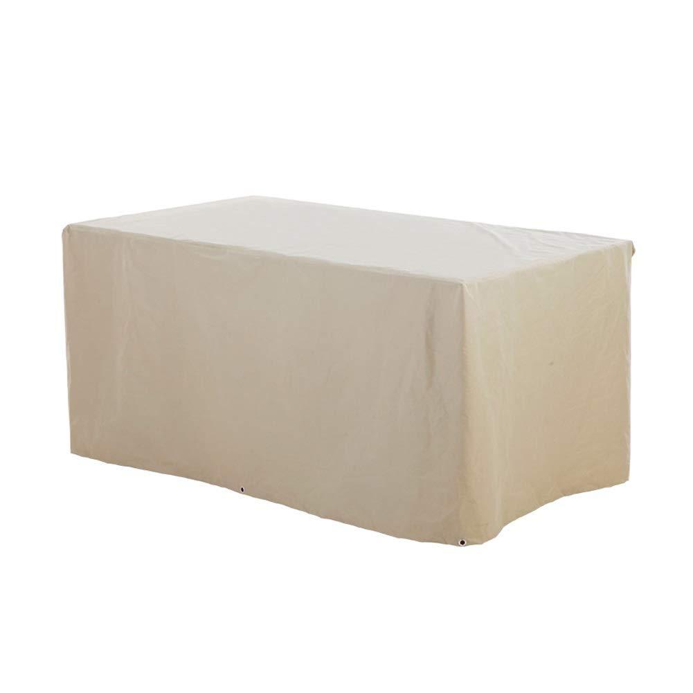 ダストカバーガーデン籐長方形の屋外用家具ソファレインカバー保護布カバー防水カバー B07STR9TZV