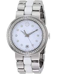 Movado Womens 0606625 Cerena Stainless Steel Watch