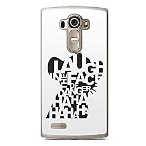 Laugh in the Face LG G4 Transparent Edge Case