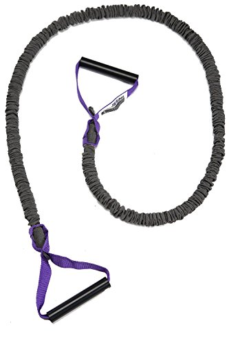 Theragear Fit Tube Pro, Covered, Purple, X-strong Resistance