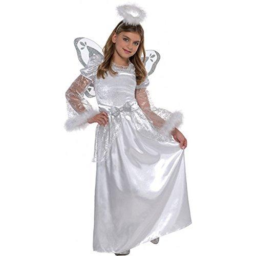 6-8 Years Girls Angel Costume (Angel Costumes Uk)