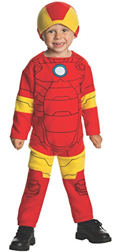 Marvel Classics Avengers Assemble Fleece Iron Man Costume,