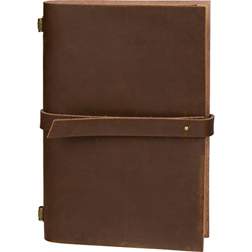 Leather Travel Journal A5 Refillable Lined Notebook for Men and (College Station Halloween Events)