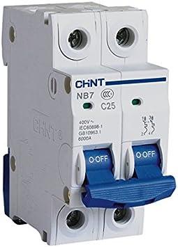 Interruptor automático magnetotérmico EBG - 2P - 32A: Amazon.es ...
