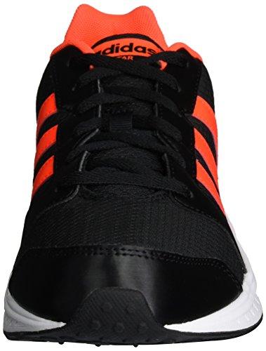adidas Vs Star, Zapatillas de Deporte para Hombre Negro (Negbas / Rojsol / Ftwbla)