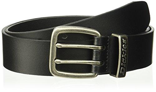 Dickies Men's  38mm Metal Loop Logo Belt,Black,38 (Belt Mens Dickies)