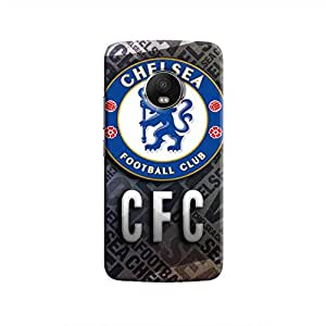 Cover It Up - Chelsea CFC Moto G5 Plus Hard Case