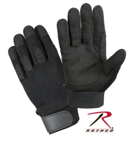 Rothco Lightweight All Purpose Duty Gloves, Black, Small by Rothco