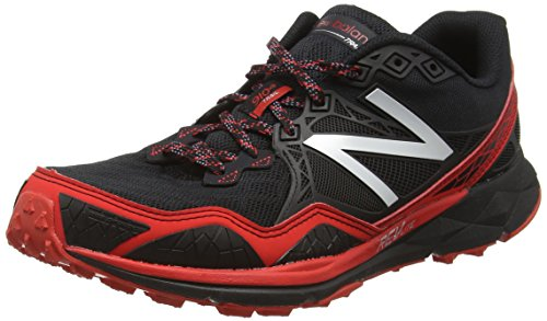 New Balance Mt910br3-910, Zapatillas de Running para Asfalto para Hombre Multicolor (Black/Red 009)