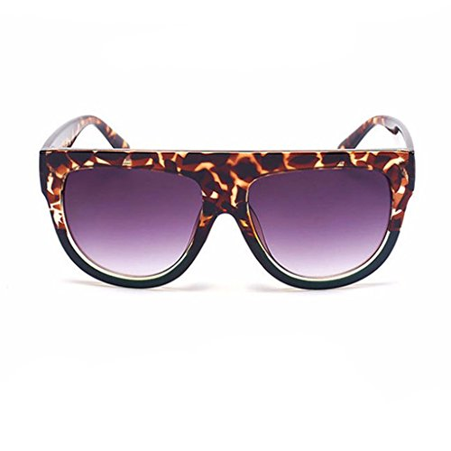 Oversized Champagne Frame Sunglasses - Red Label - Label Sunglasses Red