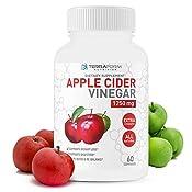 Amazon Com Pure Apple Cider Vinegar Capsules 1250mg Supports
