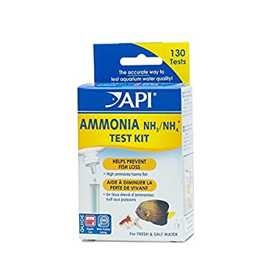 API Ammonia 130 test Kit by Aquarium Pharmaceuticals