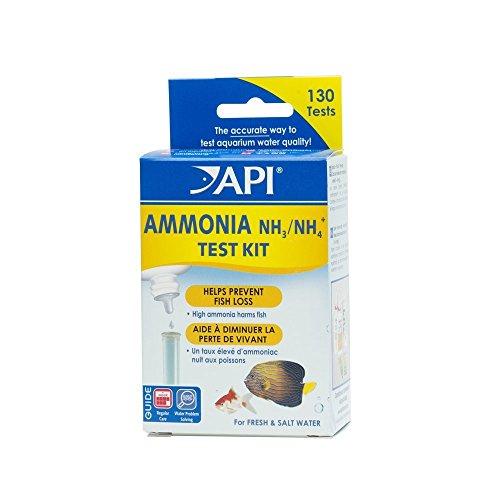 Aquarium water fish tank api ammonia 130 test kit prevent for Fish tank test kit